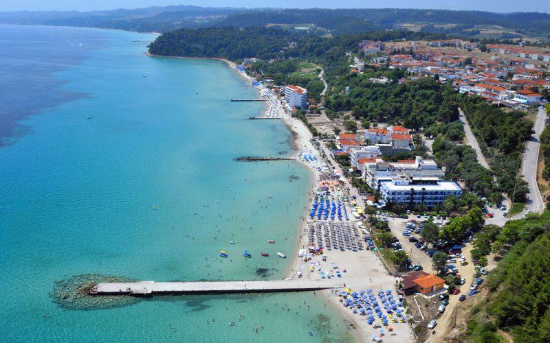 Kallithea beach Kassandra Halkidiki