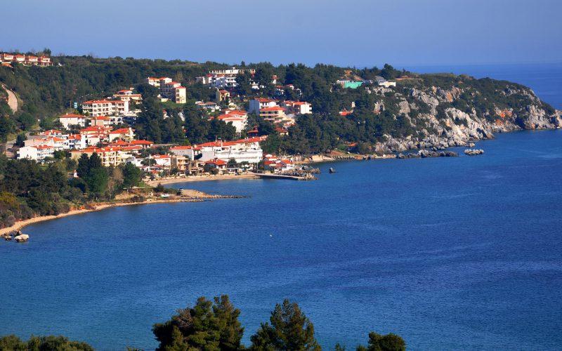 Loutra beach Kassandra Halkidiki