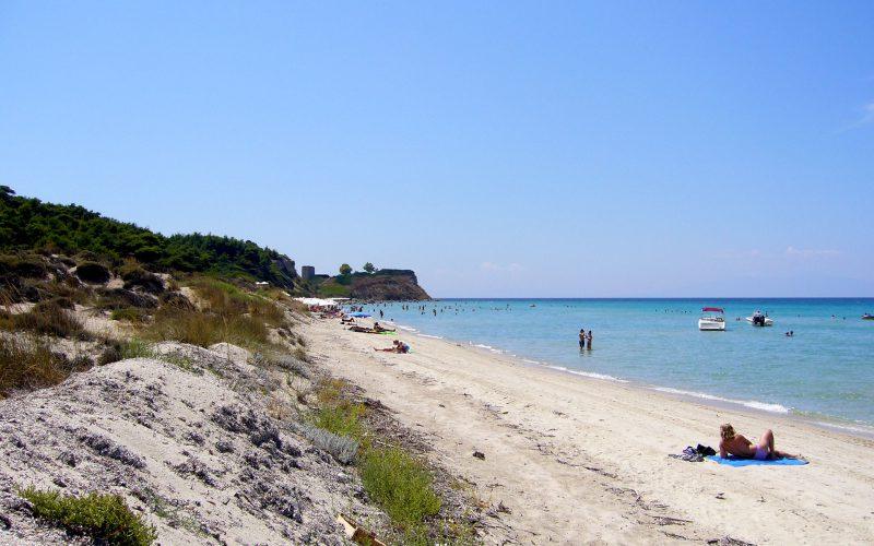 Mesonisi beach Nea Fokea Kassandra