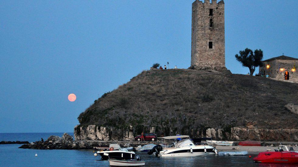 Nea Fokea tower Kassandra Halkidiki